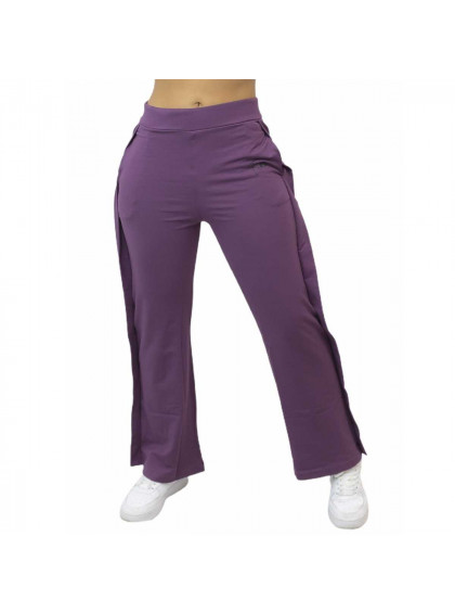 Calça Flow Pantalona Roxa