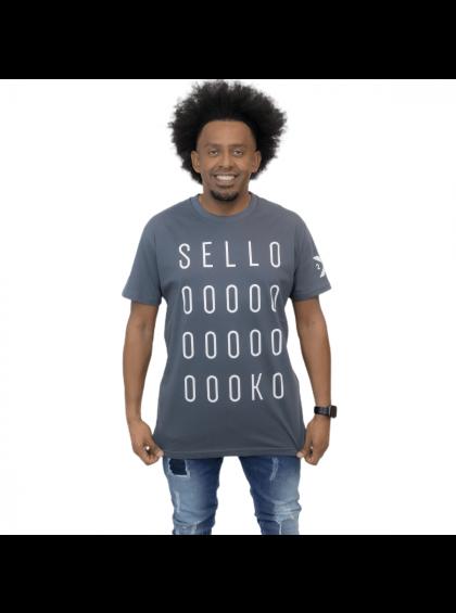 Camiseta Selloooko Cinza