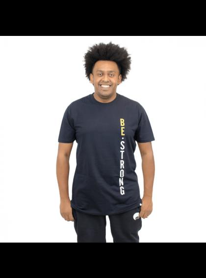 Camiseta Tradicional Be Strong Preta