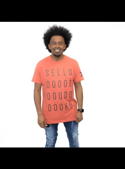 Camiseta Tradicional Selloooko Laranja