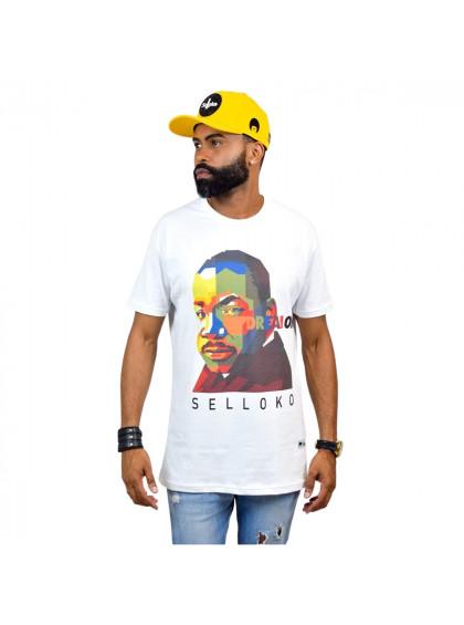 Camiseta Tradicional Martin Masculina Branca