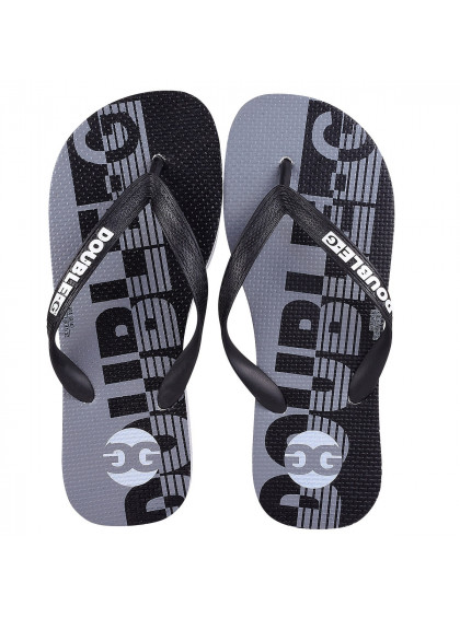 Chinelo Flip Flop DBG DGM0001 C1 Masculino Branco/Preto