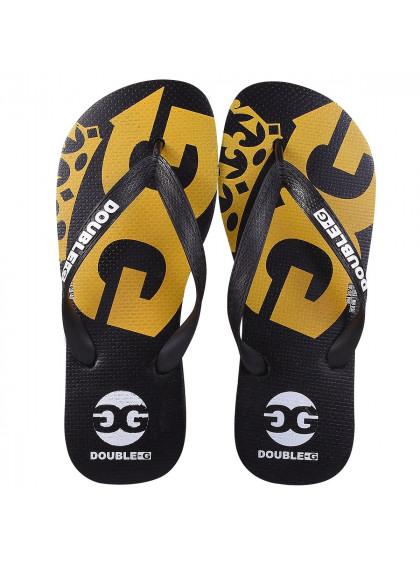 Chinelo Flip Flop DBG DGM0018 C2 Masculino Preto/Amarelo