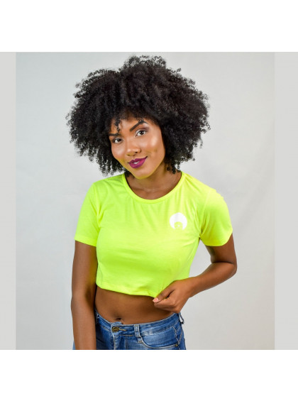 Cropped Neon Verde