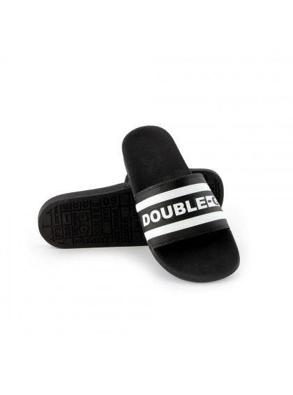 Chinelo Slide DBG Double-G Preto