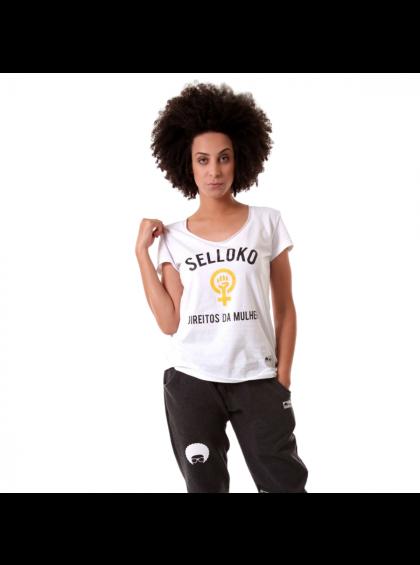 Camiseta Babylook Direitos da Mulher
