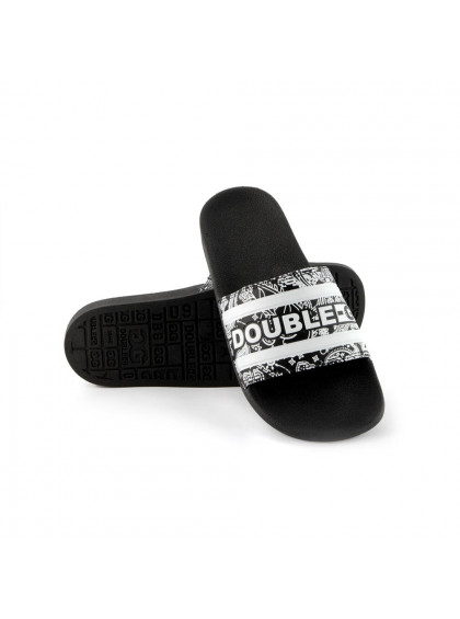 Chinelo Slide Double-G Pasley Preto