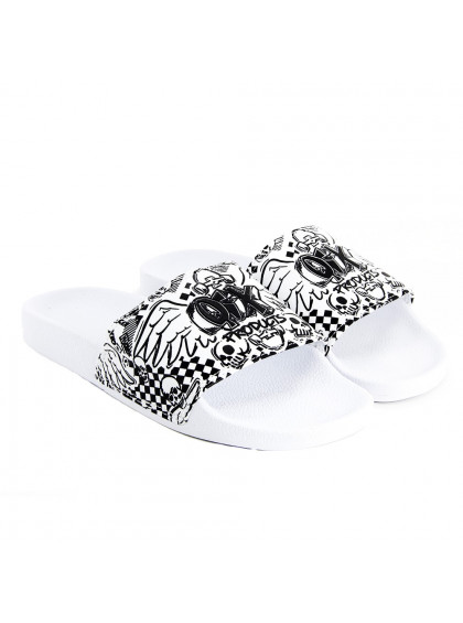 Chinelo Slide QIX Products Branco