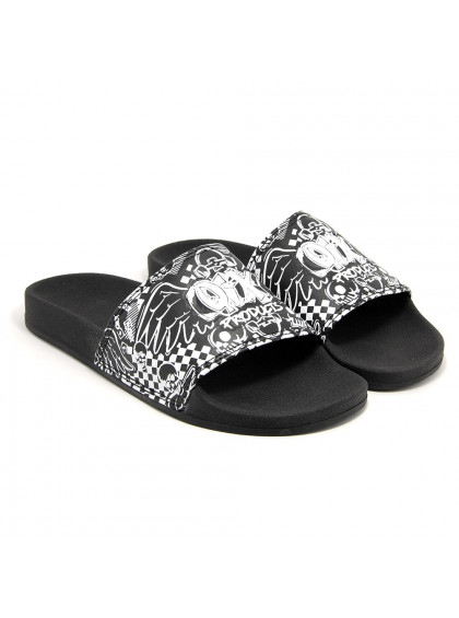 Chinelo Slide QIX Products Preto